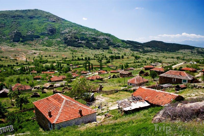 Fotka, Foto Starodávná vesnička Stavica (Makedonie)