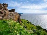 Starodávná zeď na ostrově Bornholm