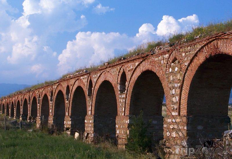 Fotka, Foto Starověký akvadukt ve Skopje (Makedonie)