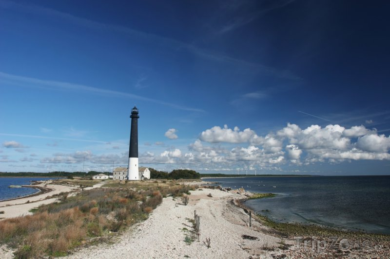 Fotka, Foto Starý maják na ostrově Saaremaa (Estonsko)