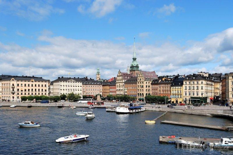Fotka, Foto Stockholm - centrum města (Stockholm, Švédsko)