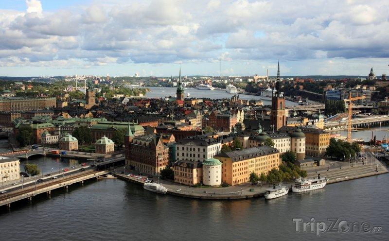 Fotka, Foto Stockholm - panorama města (Stockholm, Švédsko)