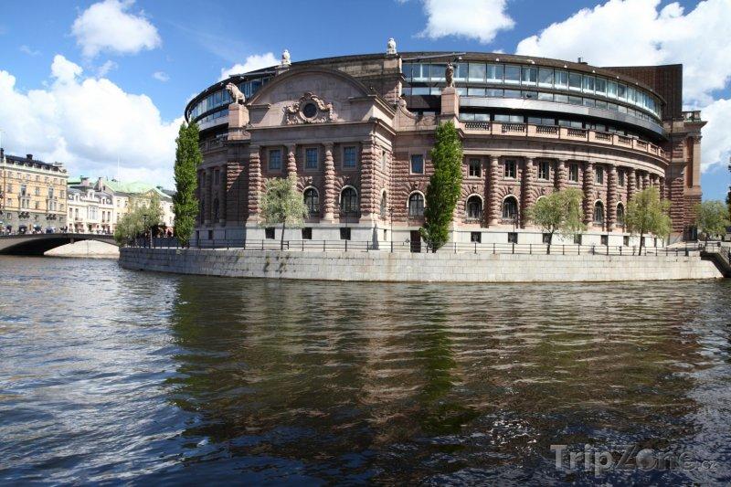 Fotka, Foto Stockholm - parlament Riksdag (Stockholm, Švédsko)