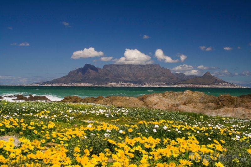 Fotka, Foto Stolová hora a Kapské město (Jihoafrická republika)