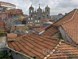 Střechy v historické části Porta
