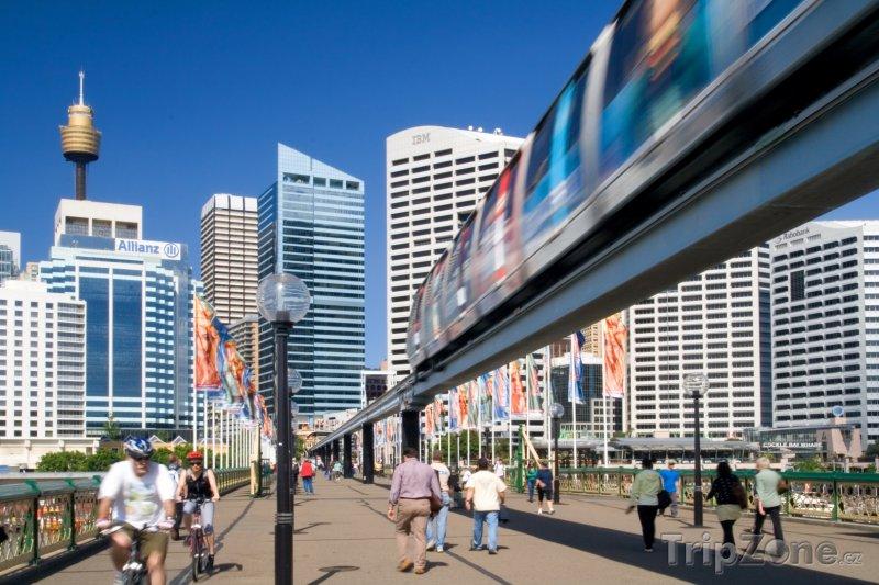 Fotka, Foto Sydneyská jednokolejka (Sydney, Austrálie)