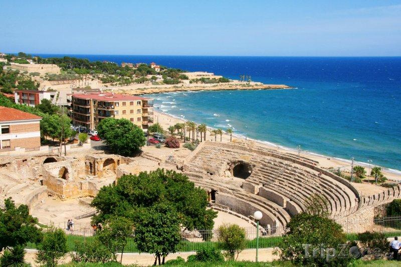 Fotka, Foto Tarragona, amfiteátr (Costa Dorada, Španělsko)
