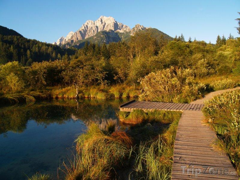 Fotka, Foto Triglavský národní park a řeka Sáva Dolinka (Slovinsko)