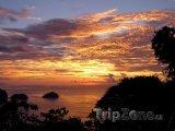 Trinidad a Tobago - západ slunce
