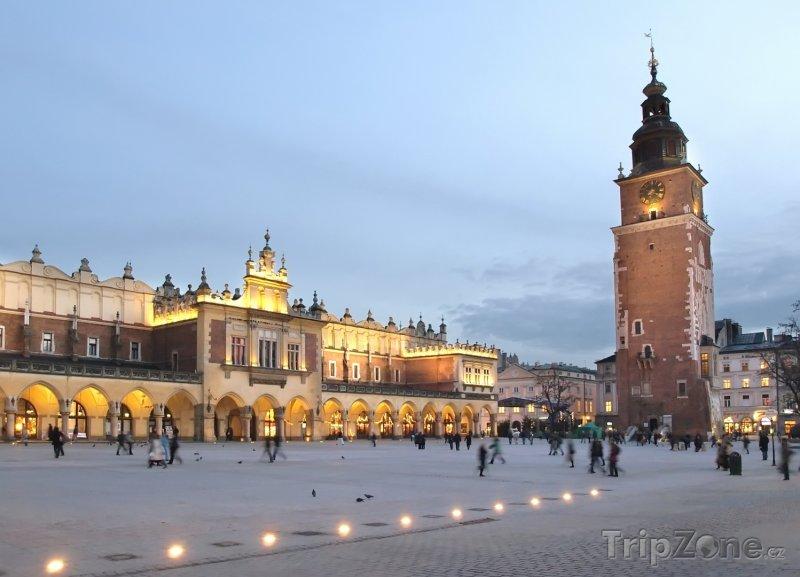 Fotka, Foto Tržnice Sukiennice na krakovském Rynku (Polsko)