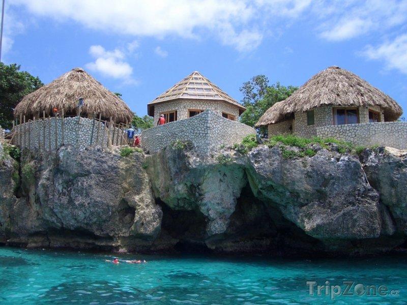 Fotka, Foto Ubytování na skalním útesu, Negril (Jamajka)