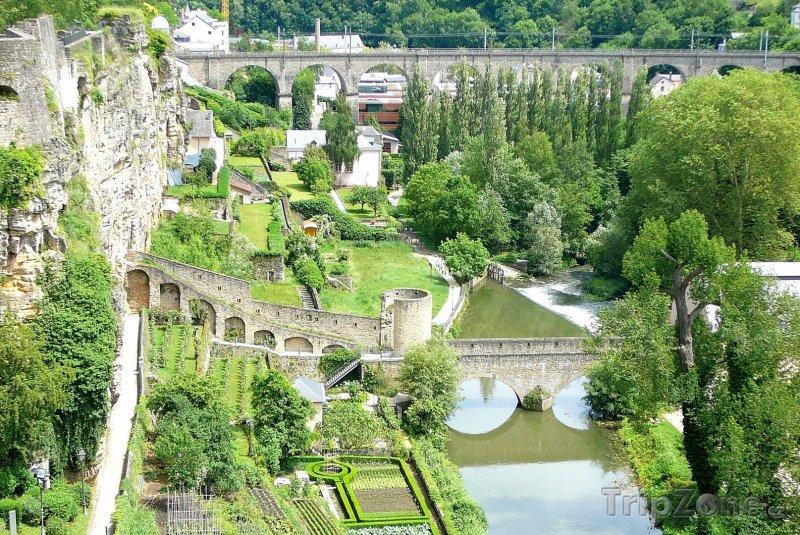 Fotka, Foto Údolí Grund (Lucembursko)
