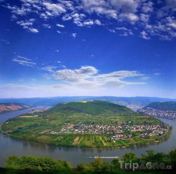 Fotka, Foto Údolí řeky Rýn (Německo)