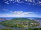 Údolí řeky Rýn