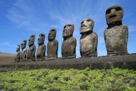Velikonoční ostrov, sochy moai