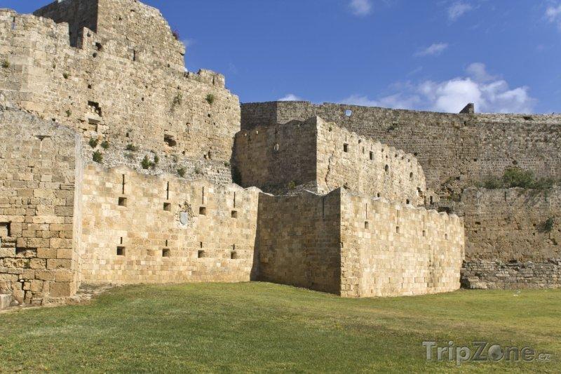 Fotka, Foto Velmistrův palác v Rhodosu (Rhodos, Řecko)
