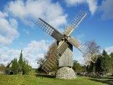 Větrný mlýn na ostrově Saaremaa