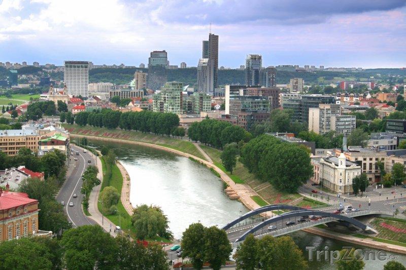 Fotka, Foto Vilnius - pohled na město (Litva)