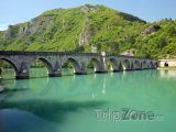 Višegrad, most Mehmeda Paši Sokoloviće přes Drinu