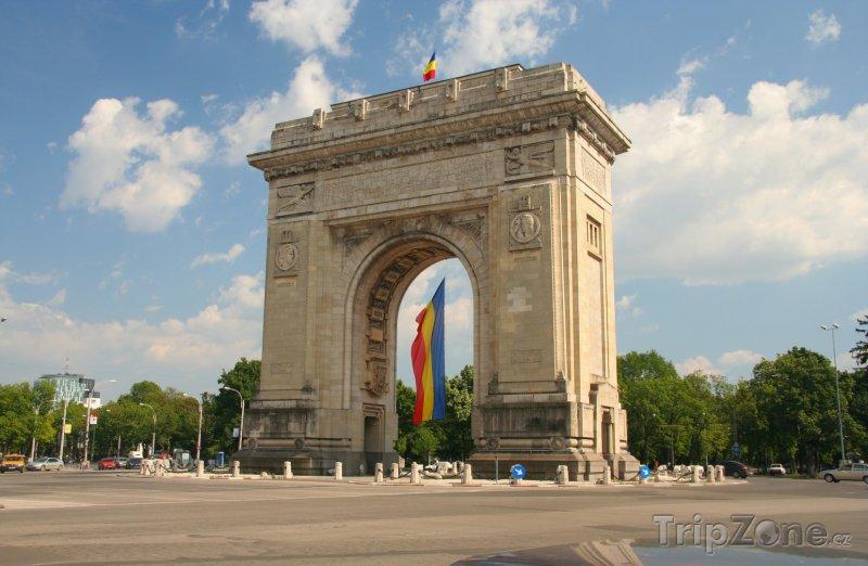 Fotka, Foto Vítězný oblouk v Bukurešti (Rumunsko)