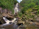 Vodopád Aber - národní park Snowdonia ve Walesu