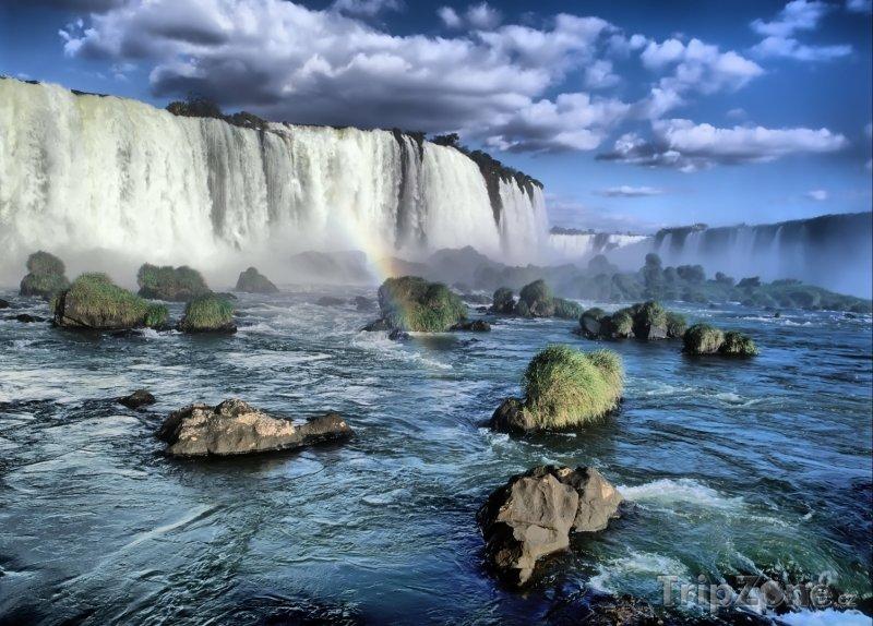 Fotka, Foto Vodopády Iguacu na hranici s Argentinou (Brazílie)