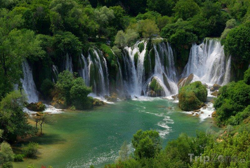 Fotka, Foto Vodopády Kravica (Bosna a Hercegovina)