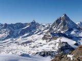 Vrcholek hory Matterhorn