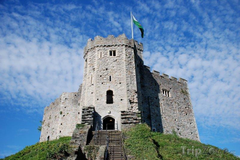 Fotka, Foto Wales - hrad v Cardiffu (Velká Británie)