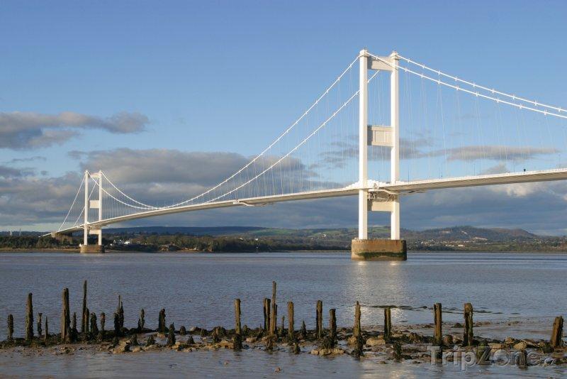 Fotka, Foto Wales - most Severn (Velká Británie)