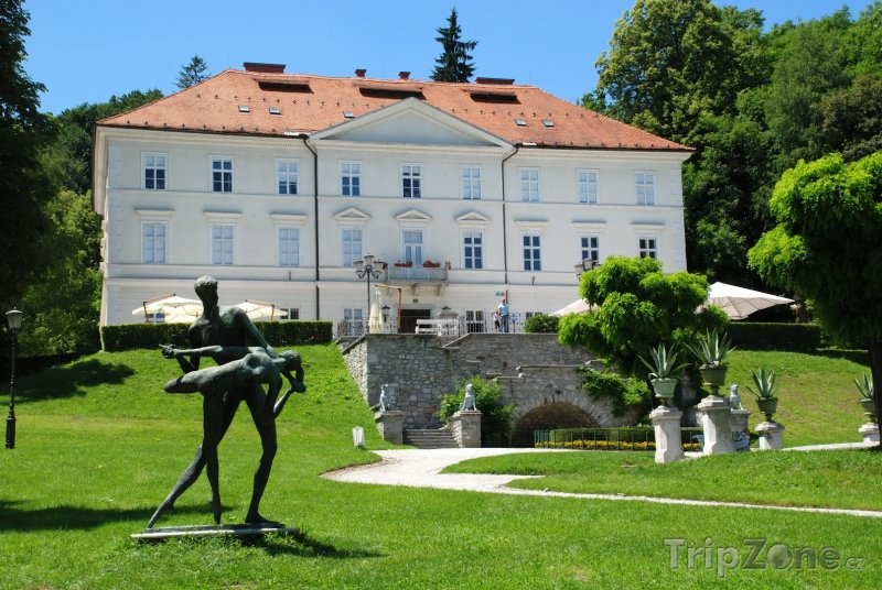 Fotka, Foto Zámek Tivoli v Lublani (Lublaň, Slovinsko)