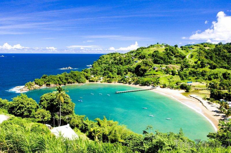 Fotka, Foto Zátoka Parlatuvier (Trinidad a Tobago)