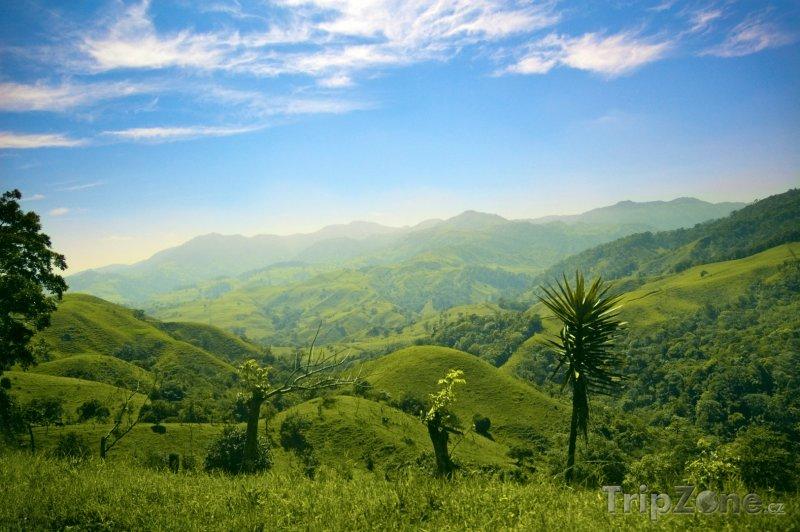 Fotka, Foto Zelené kopce a hory (Kostarika)