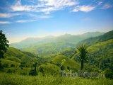 Zelené kopce a hory