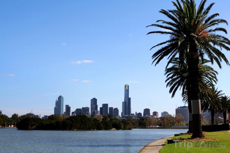 Fotka, Foto Albert Park poblíž Melbourne (Austrálie)