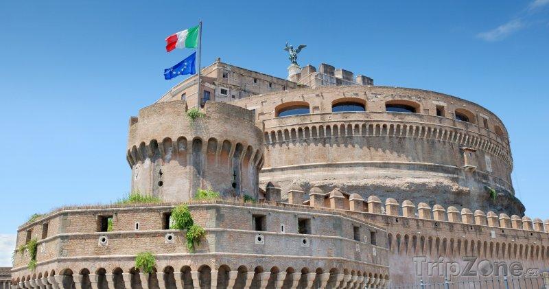 Fotka, Foto Andělský hrad v Římě (Řím, Itálie)