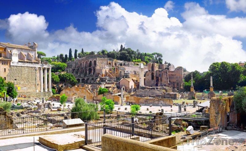 Fotka, Foto Antické ruiny Forum Romanum (Itálie)