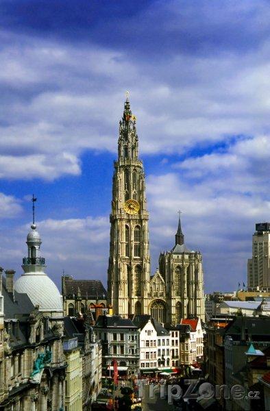 Fotka, Foto Antverpy, katedrála (Belgie)
