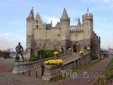 Antverpy, pevnost Het Steen, budova námořního muzea