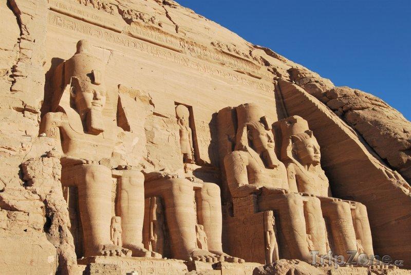 Fotka, Foto Archeologická oblast Abú Simbel (Egypt)