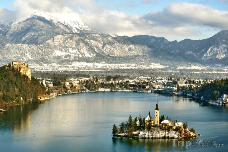 Fotka, Foto Bledské jezero (Slovinsko)