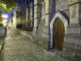 Boční dvířka do dublinské katedrály Nejsvětější Trojice