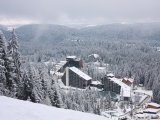 Borovec, hotel v lyžařském středisku