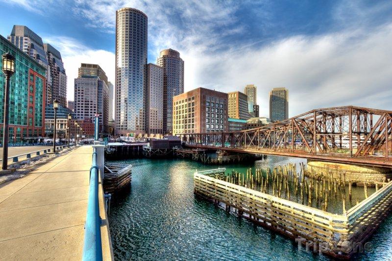 Fotka, Foto Boston, finanční čtvrť (USA)