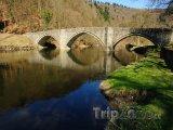 Bouillon, most přes řeku Semois
