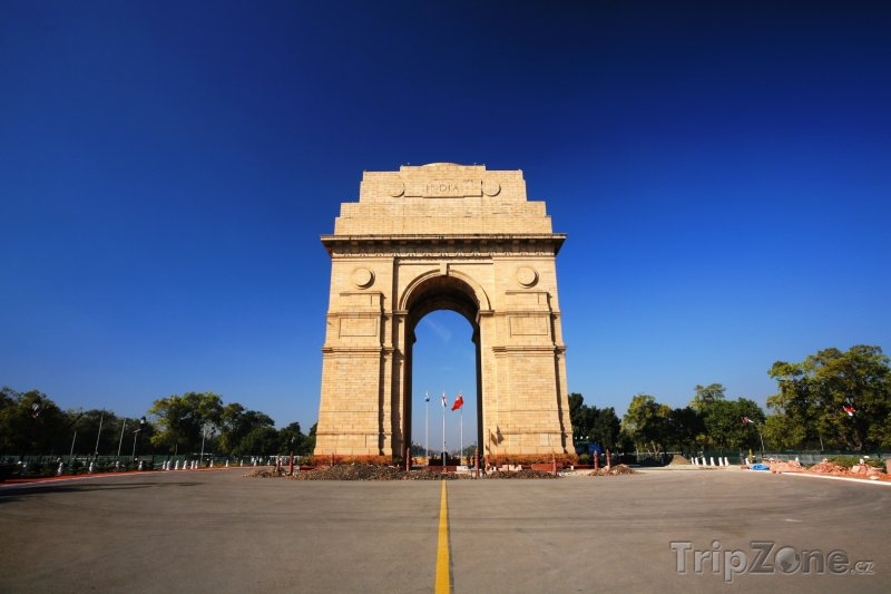 Fotka, Foto Brána Indie v Novém Dillí (Indie)