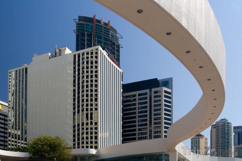 Fotka, Foto Brisbane - finanční distrikt (Austrálie)