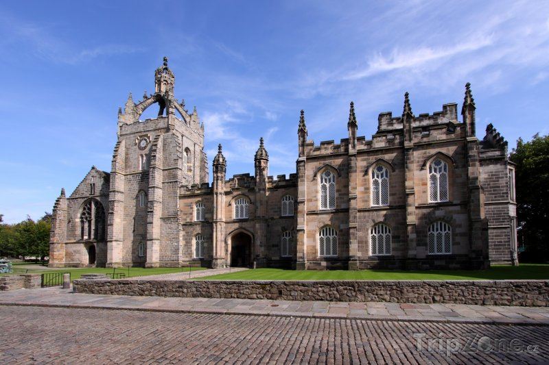 Fotka, Foto Budova King's College, University of Aberdeen (Velká Británie)