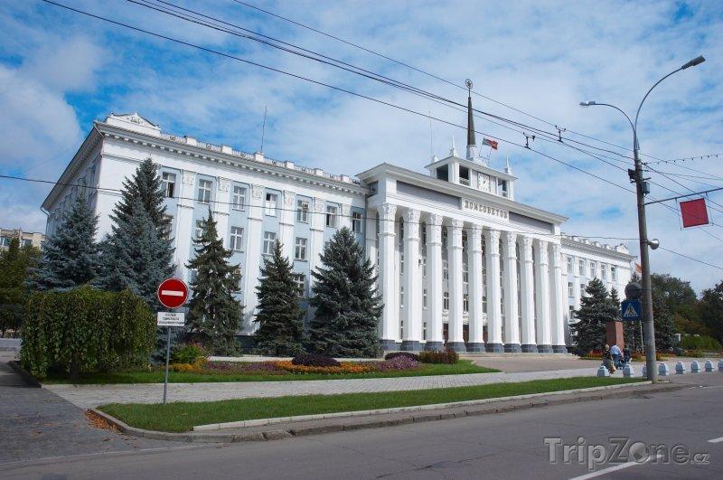 Fotka, Foto Budova městské rady v Tiraspolu (Moldavsko)