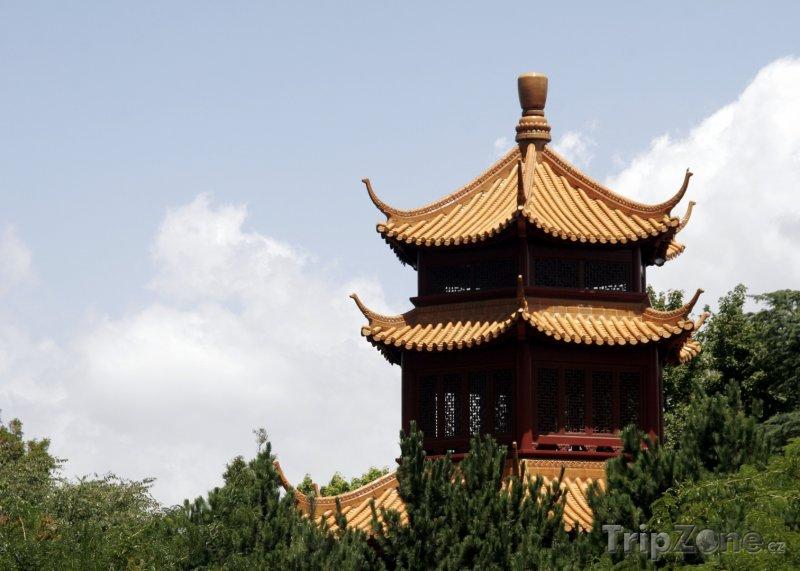 Fotka, Foto Budova v Čínské zahradě přátelství v Sydney (Sydney, Austrálie)
